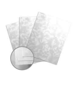Constellation Jade Silver Card Stock - 8 1/2 x 11 in 80 lb Cover Riccio C/1S 250 per Package