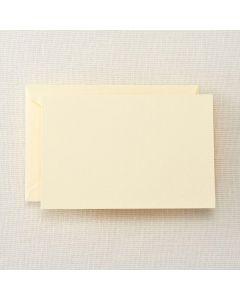 Crane & Co. Ecruwhite Correspondence Card & Envelope