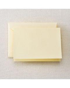 Crane & Co. Ecruwhite Folded Note