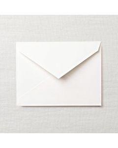 Crane & Co. Pearl White Kid Finish Embassy Envelope