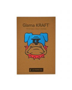 Glama Kraft - CTI Paper USA Text Paper and Cover Paper Sample Swatchbook and Professional Graphics Tool