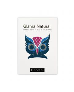Glama Natural - CTI Paper USA Translucent Bond Paper Sample Swatchbook and Professional Graphics Tool