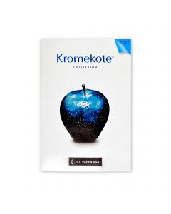 Kromekote - CTI Paper USA Text Paper and Cover Paper Sample Swatchbook and Professional Graphics Tool