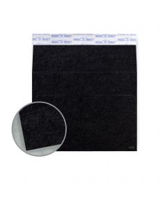 Ruche Black Envelopes - A6 (4 3/4 x 6 1/2) 80 lb Text Crepe  100% Recycled 200 per Box