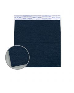 Ruche Blue Envelopes - A7 (5 1/4 x 7 1/4) 80 lb Text Crepe 100% Recycled 200 per Box