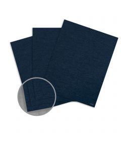 Ruche Blue Paper - 8 1/2 x 11 in 80 lb Text Crepe  100% Recycled 250 per Package