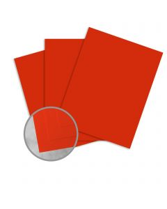Curious Matter Desiree Red Card Stock - 27 1/2 x 39 3/8 in 100 lb Cover Textured C/2S 100 per Package