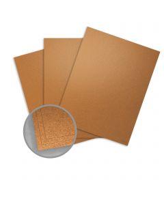 Curious Metallics Cognac Paper - 8 1/2 x 11 in 80 lb Text Metallic C/2S 250 per Package