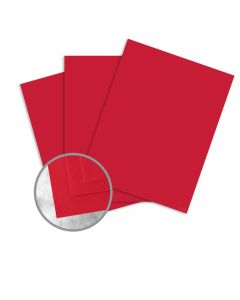 Curious Skin Red Card Stock - 8 1/2 x 11 in 100 lb Cover Skin 100 per Package