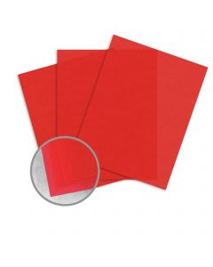 Curious Translucents Flame Paper - 27 1/2 x 39 3/8 in 27 lb Bond Translucent Vellum 250 per Package