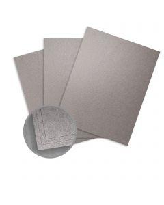 Elan Metallics Graphite Card Stock - 8 1/2 x 11 in 92 lb Cover Metallic C/2S 25 per Package