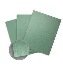 Elan Metallics Moss Paper - 8 1/2 x 11 in 80 lb Text Metallic C/2S 25 per Package