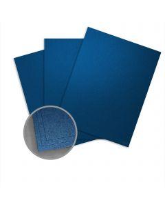 Elan Metallics Sapphire Card Stock - 8 1/2 x 11 in 107 lb Cover Metallic C/2S 25 per Package