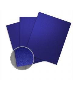 Elan Metallics Tanzanite Card Stock - 8 1/2 x 11 in 111 lb Cover Metallic C/2S 250 per Package