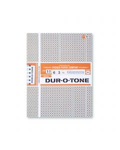 Dur-O-Tone - French Paper Text Paper and Cover Paper Sample Swatchbook and Professional Graphics Tool