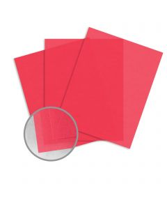 Glama Natural Rose Paper - 8 1/2 x 11 in 27 lb Bond Translucent Vellum 500 per Ream