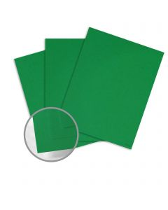 Glo-Tone Green Light Card Stock - 8 1/2 x 11 in 65 lb Cover Vellum  100% Recycled 250 per Package