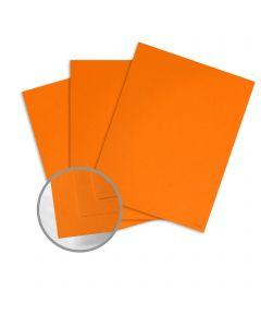 Glo-Tone Orange Light Card Stock - 26 x 40 in 65 lb Cover Vellum  100% Recycled 500 per Carton