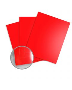 Kromekote Red Paper - 40 x 26 in 12 pt Cover Glossy C/1S 100 per Package