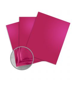 Mirricard Pink Card Stock - 27 1/2 x 39 3/8 in 12 pt Cover Mirror C/1S 200 per Package