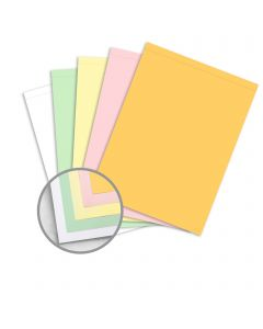 NCR Paper* Brand Superior Perf Multi-Colored Carbonless Paper - 8 1/2 x 11 1/2 in 21.4 lb Writing  Precollated 5-Part RS Goldenrod, Pink, Canary, Green, White Perforated on Top 500 per Ream