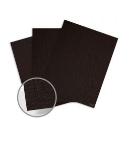Leatherlike Brown Card Stock - 28.3 x 40.2 in 85 lb Cover Traditional C1S 100 per Carton