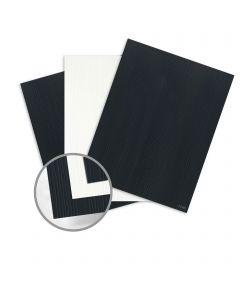 CLASSIC Woodgrain Epic Black/Solar White Card Stock - 26 x 40 in 120 lb Cover Duplex 30% Recycled Woodgrain 200 per Carton