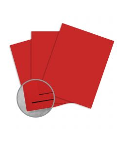 Plike Red Paper - 28.3 x 40.2 in 95 lb Text Smooth C/2S 125 per Package