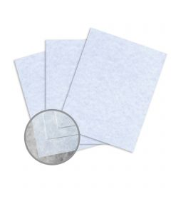 Skytone Bluestone Card Stock - 8 1/2 x 11 in 65 lb Cover Vellum  30% Recycled 250 per Package