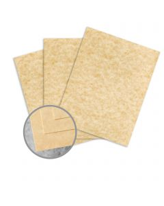 Skytone Champagne Card Stock - 8 1/2 x 11 in 65 lb Cover Vellum  30% Recycled 250 per Package