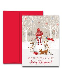 Snowman & Friends  Cards from the Fine Impressions Holiday Collection.  | 3-FI-854200 | The Paper Mill Store .com
