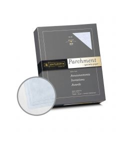 Southworth Specialty Parchment Blue Paper - 8 1/2 x 11 in 24 lb Bond Parchment 500 per Ream