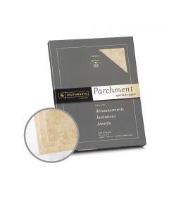 Southworth Specialty Parchment Copper Paper - 8 1/2 x 11 in 24 lb Bond Parchment 100 per Package