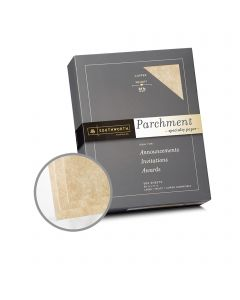 Southworth Specialty Parchment Copper Paper - 8 1/2 x 11 in 24 lb Bond Parchment 500 per Ream