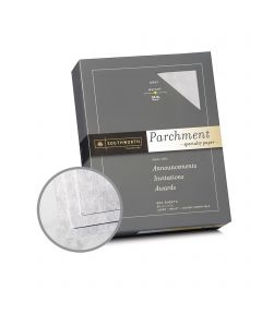 Southworth Specialty Parchment Gray Paper - 8 1/2 x 11 in 24 lb Bond Parchment 500 per Ream