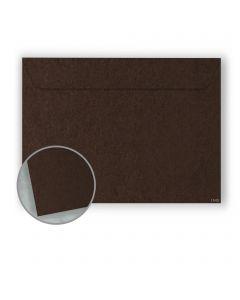 Speckletone Chocolate Envelopes - No. 6 1/2 Booklet (6 x 9) 70 lb Text Vellum  100% Recycled 500 per Carton