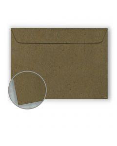 Speckletone Olive Envelopes - No. 6 1/2 Booklet (6 x 9) 70 lb Text Vellum  100% Recycled 500 per Carton