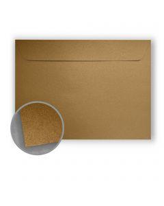 Stardream Antique Gold Envelopes - No. 9 1/2 Booklet (9 x 12) 81 lb Text Metallic C/2S 500 per Box