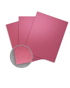 Stardream Azalea Paper - 8 1/2 x 11 in 81 lb Text Metallic C/2S 250 per Package