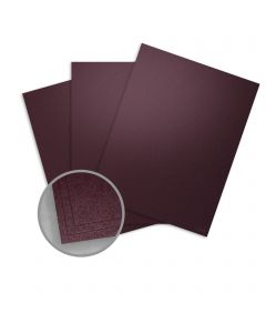 Stardream Ruby Card Stock - 12 x 12 in 105 lb Cover Metallic C/2S 100 per Package