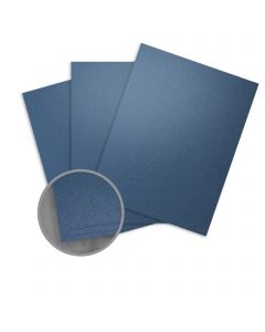 Stardream Sapphire Card Stock - 28.3 x 40.2 in 105 lb Cover Metallic C/2S 100 per Package