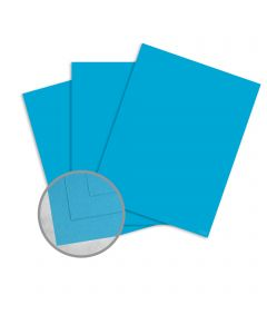 Via Vellum Digital I-Tone Cyan Card Stock - 19 x 13 in 80 lb Cover Vellum Digital with I-Tone  30% Recycled 125 per Package