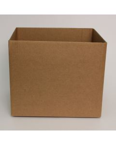TPMS Brown Letter Head Shipping Box Bottoms - 11 x 8 1/2 x 9 1/4 - 20 per Package
