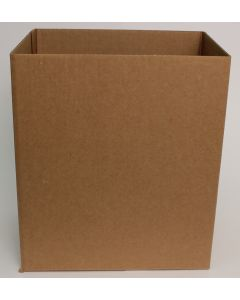TPMS Brown Letter Head Shipping Box Bottoms - 11 x 8 1/2 x 12 3/4 - 20 per Package