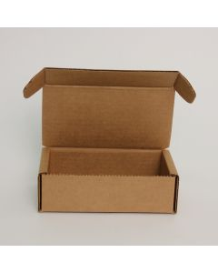 TPMS Brown Business Card Shipping Box - 6 1/2 x 3 7/8 x 2 1/8 - 100 per Package