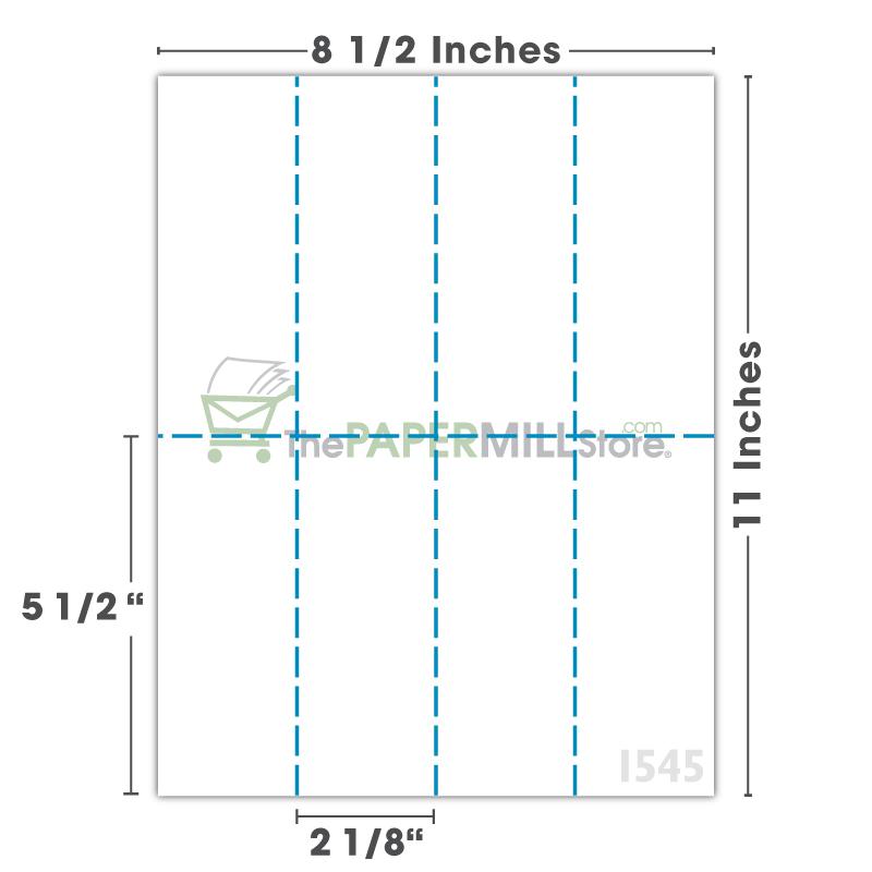 PF37 - 2 1/8 x 5 1/2 - 4 Columns & 2 Rows