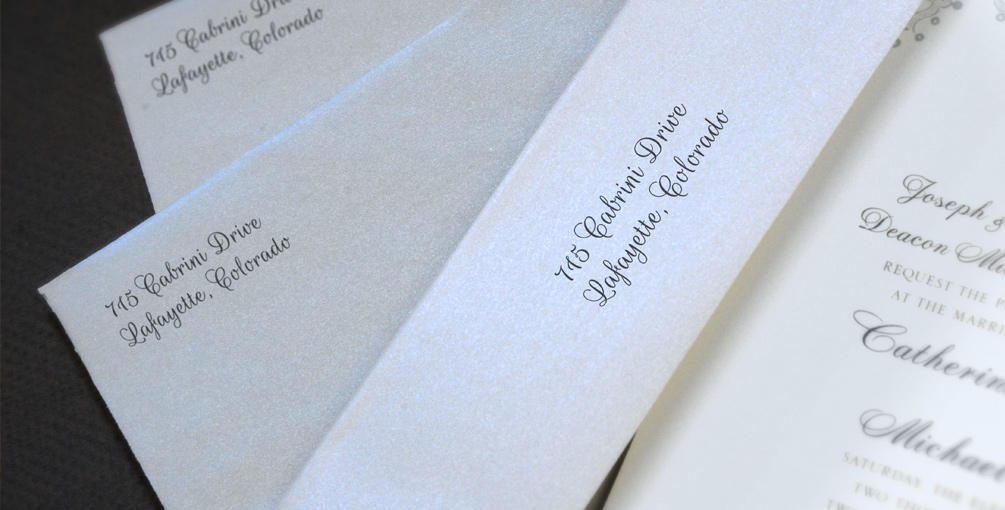 Custom Envelope Printing At The Paper Mill Store