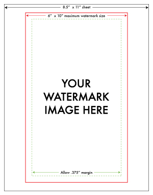 Custom Watermark Artwork Specs